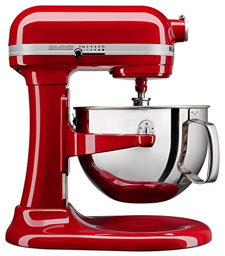 - KitchenAid KL26M1XER Professional 6-Qt. Bowl-Lift Stand Mixer - Empire Red