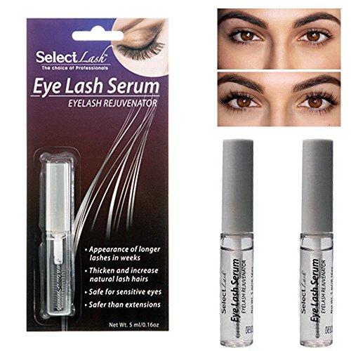 2 X Lash Serum Growth Lengthening Thicker Longer Eyelashes Renew Rapid Lashes