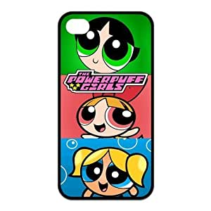 Custom Your Own The Powerpuff Girls Silicon iPhone 4/4S Case , Special designer The Powerpuff Girls iPhone 4/4S Case
