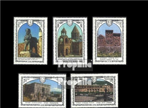 Soviet-Union 4768-4772 (complete.issue.) 1978 Architecture Armenia (Stamps for collectors)