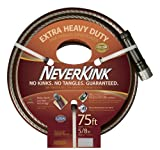 Teknor Apex NeverKink 8642-75,  Extra Heavy Duty Garden Hose, 5/8-Inch by 75-Feet