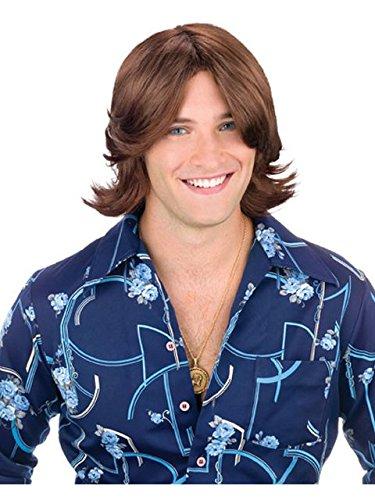 Luke Duke Costume (Ladies Man Wig Costume Accessory)