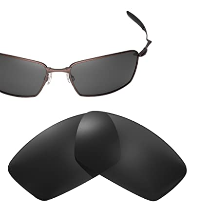 fb37e20d9f Cofery Replacement Lenses for Oakley Square Whisker Sunglasses - Multiple  Options Available (Black - Polarized