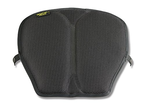 SKWOOSH Mid Size Touring and Sport Motorcycle Gel Cushion with Cooling Mesh Breathable Fabric | Made in USA