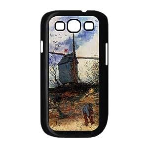 [Van Gogh Art Irises] Vincent Van Gogh Painting Case for Samsung Galaxy S3, Samsung Galaxy S3 Case {Black}
