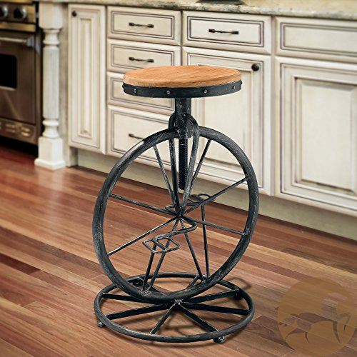 Metro Shop Christopher Knight Home Michaelo Bicycle Wheel Adjustable ()