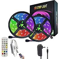 AnneFish LED Strip Light, 10M Smart RGB Rope Lighting, Color Changing APP Remote Control Tape Light, Home Decoration…