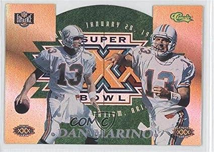 6f96d7e72 Amazon.com  Dan Marino (Football Card) 1996 Classic NFL Experience ...