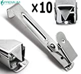 10× Medical X-Ray Film Hanger Single Clip