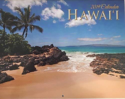 2019 Hawaii Calendar 12 Month All Island Scenes