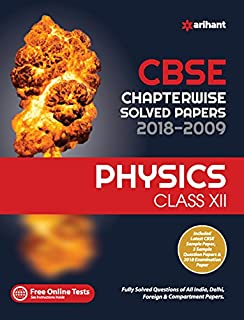 CBSE Chemistry Chapterwise Solved Papers Class 12th: Amazon in