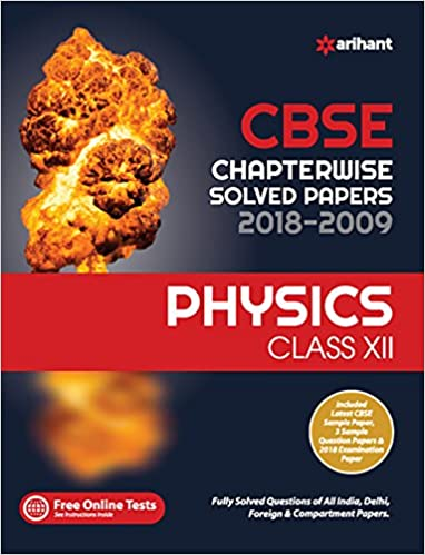 CBSE Chapterwise Physics Class 12th - by Arihant Expert