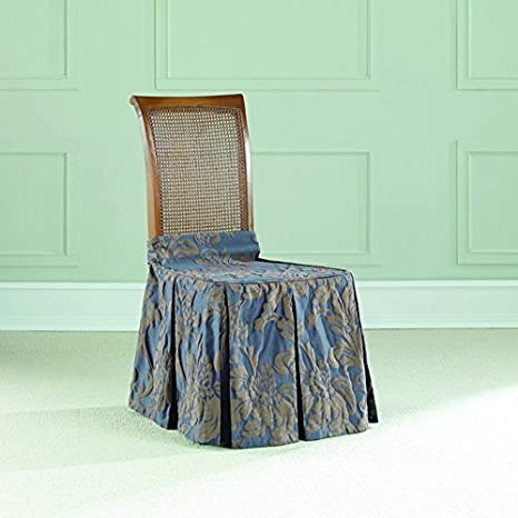 Super Sure Fit 2 Tone Matelasse Damask Long Dining Chair Seat Machost Co Dining Chair Design Ideas Machostcouk