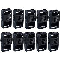 Retevis Rubber Soft Handheld 2 Way Radio Case Holster Protection for Baofeng BF-UV5R UV-5RV UV-5RE UV5R+ UV-985 Retevis RT-5R RT-5RV WalkIe Talkies (10 Pack)