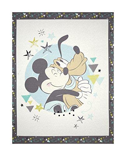 Springs Creative Products 0546133 Disney Nursery Mickey Panel Multi, - Nursery Fabrics