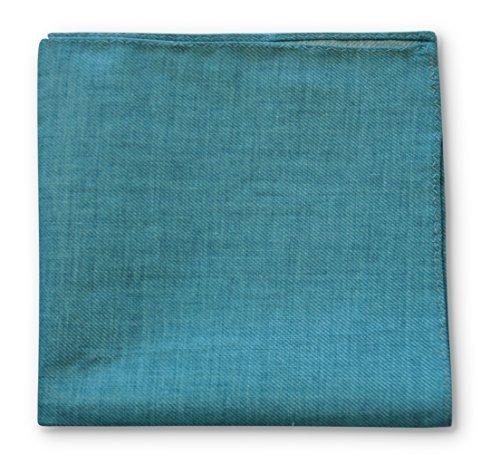 Frederick Thomas vert de mer turquoise poche carré