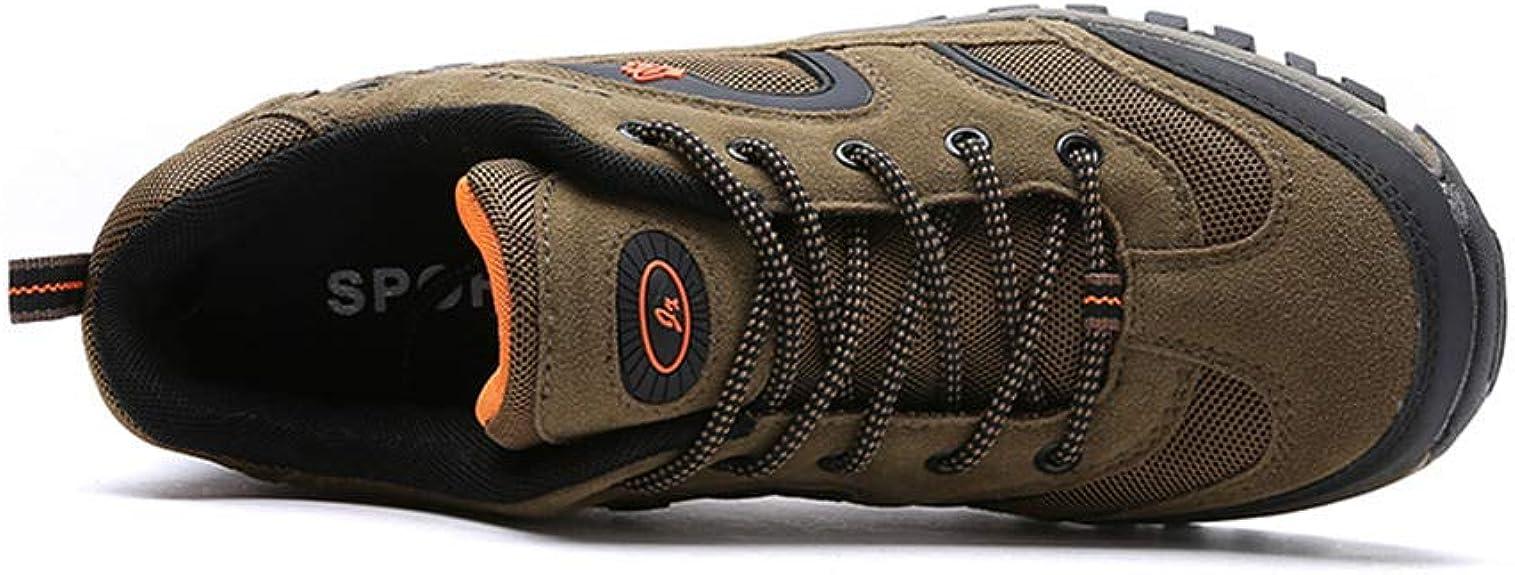 Chaussures De Randonn/ée Sports pour Homme Escalade Excursion Montagne Confortable Et Respirant Plein Air Gris Kaki Arm/ée Verte 39-46