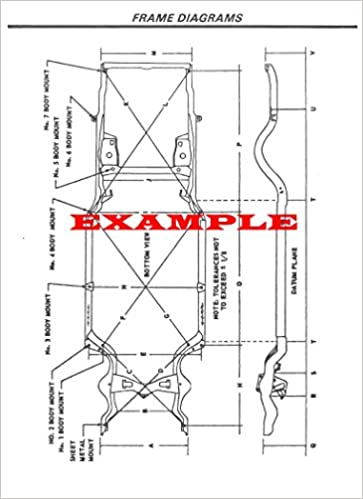 1966 ford mustang laminated frame dimensions diagram [kitchen]: amazon com:  books