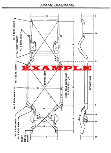 Restoration 1965 Mustang (1965 FORD MUSTANG LAMINATED FRAME DIAGRAM)