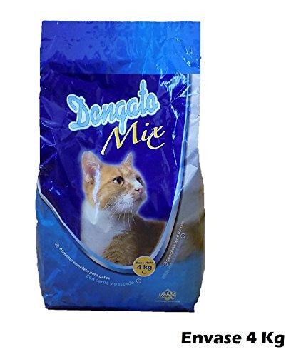 Saco de pienso 4 Kg comida para gatos con carne y pescado