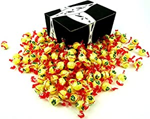 Napoleon Lempur (Lemon) Hard Candy, 2 lb Bag in a BlackTie Box