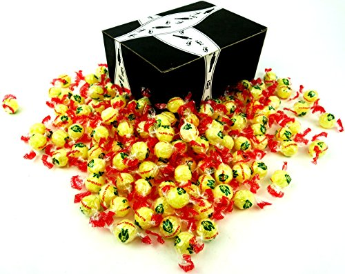 - Napoleon Lempur (Lemon) Hard Candy, 2 lb Bag in a BlackTie Box