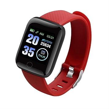 KKART Relojes inteligentes Rastreador de ejercicios Reloj de ...