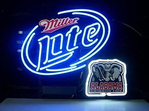Alabama Crimson Tide Neon Light Price Compare