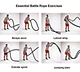 X-Power Battle Exercise Training Rope,2 Inch