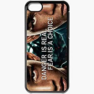 Personalized iPhone 5C Cell phone Case/Cover Skin After earth movies Black by mcsharks