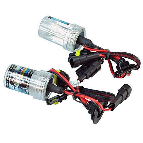 18w 10000k Bulb (eBoTrade NEW 9006 10000K HID Xenon Replacement Light Bulbs - 1 Pair)
