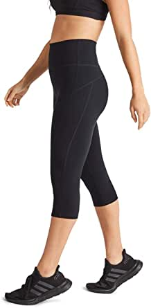 Rockwear Activewear Women's 3/4 Luxesoft Ultra Hr Tight from Size 4-18 for 3/4 Length Ultra High Bottoms Leggings + Yoga Pants+ Yoga Tights