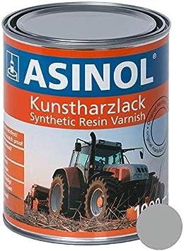 Asinol Deutz Silber 1000 Ml Kunstharzlack Farbe Lack 1l Liter Dose Auto