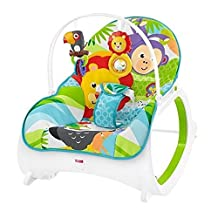 Fisher-Price Infant-To-Toddler Rocker-Geo Diamonds