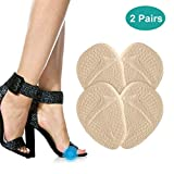 Ball of Foot Cushions, 2 Pairs Anti-Slip Shoe Pads Inserts Gel Forefoot Insoles