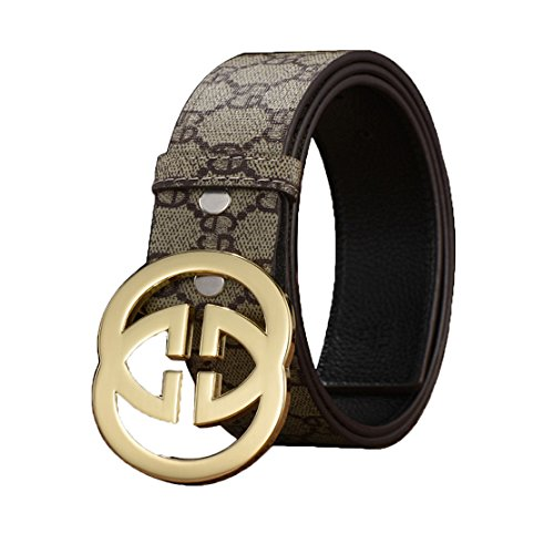 l Buckle Unisex Belt Casual Business (1.5inch wide) (33