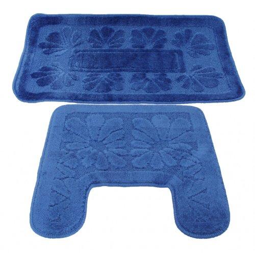 Set tappeti da bagno 10 colori in 2 varianti negozio online tende e tappeti - Amazon tappeti bagno ...