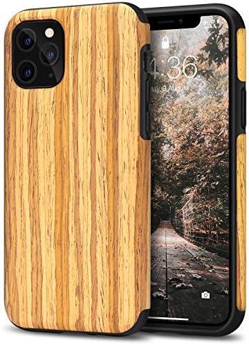 Tasikar Kompatibel Mit Iphone 11 Pro Hülle Holz Design Elektronik