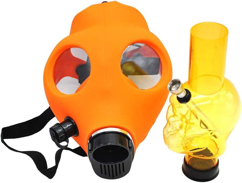 Forma De La Máscara Bong Cachimba Cachimba Bong Cráneo De La Máscara Protectora De Silicona Para Fumar Narguile Partido Del Traje Color De La Mezcla, Color Enviado Aleatoriamente,Style 2