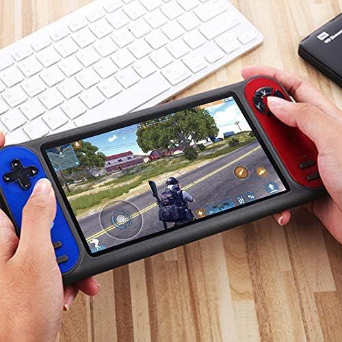 libelyef Handheld-Spielekonsole, Retro Dual Game Player 7-Zoll-Unterstützung Für FC GBA PSP3000