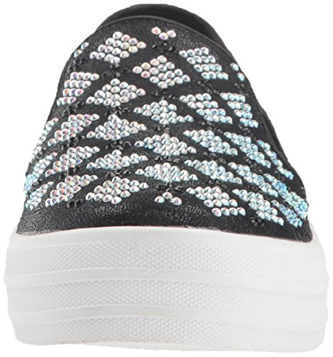Black Women's up Stained Double Silver Glass Skechers Street Yq1FAA