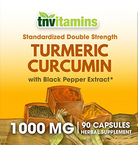 Amazon.com: TNVitamins Turmeric Curcumin 1000 Mg with Black Pepper (90 Capsules): Health & Personal Care