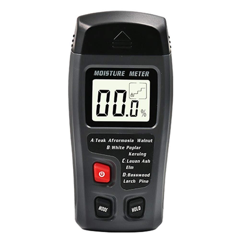 Madera Medidor de Humedad Pantalla LCD Humedad 0-99.9%