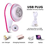 Lint Remover USB Rechargeable Electric Sweater Clothes Fuzz Shaver For Clothes etc For Sale