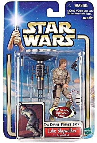 Star Wars EP2 AOTC Luke Skywalker Bespin Duel with Metal Arm Peg