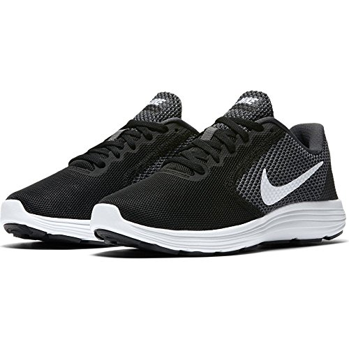 Grey 3 White NikeNike Dark black Revolution Scarpe Damen Running Donna Laufschuhe qxU16wT