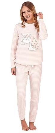 Lora Dora Womens Fleece Pyjamas Pjs  Amazon.co.uk  Clothing 6384957fd