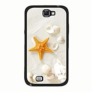 Hot Design Sandy Beach Phone Case Cover For Samsung Galaxy Note 2 n7100 Sandy Beach Unique Design