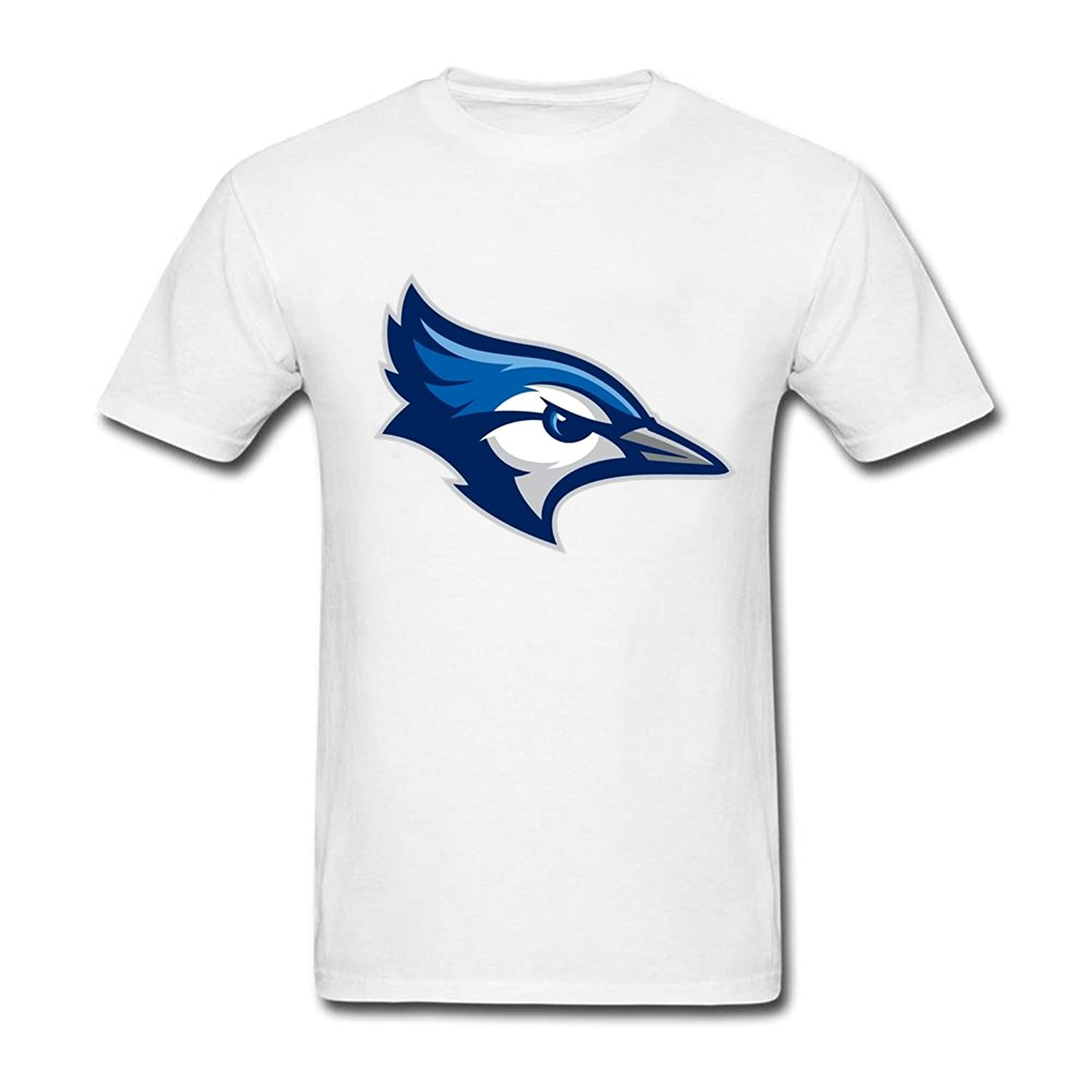 Short Sleeve Creighton University Blue Jays Alternate 100% Cotton Man's T Shirt White S