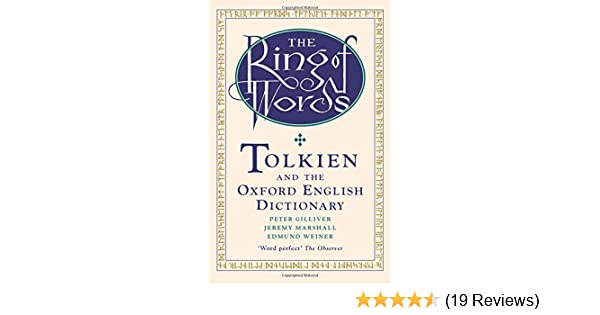 Amazon Com The Ring Of Words Tolkien And The Oxford English